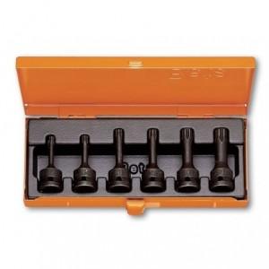 Komplet nasadek udarowych 720tx t30-t60 6 sztuk w pudełku metalowym Beta 720TX/C6