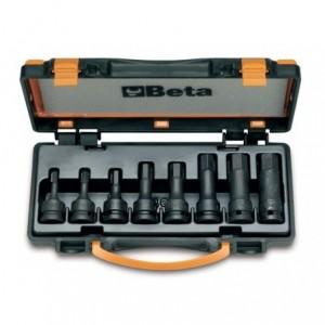 Komplet nasadek udarowych 720me 5-19mm 8 sztuk w pudełku metalowym Beta 720ME/C8