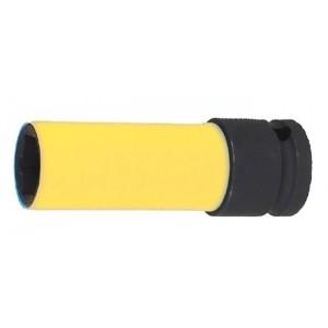 """Nasadka udarowa sześciokątna z nakładką polimerową z gniazdem 1/2"""" Beta 720LC 19mm"""