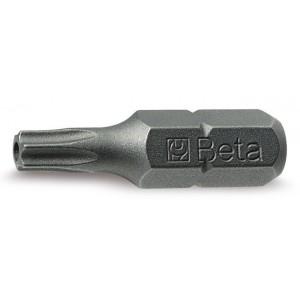 """Końcówka wkrętakowa profil tamper resistant torx zabierak 1/4"""" Beta 861RTX T25"""