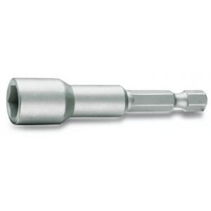 """Końcówka wkrętakowa z nasadką sześciokątną zabierak 1/4"""" magnetyczna Beta 862F 7mm"""