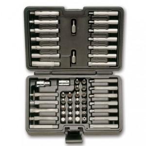 Zestaw końcówek wkrętakowych 867 z akcesoriami 54 elementy w pudełku z tworzywa...