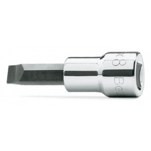 """Nasadka z końcówką wkrętakową płaską z gniazdem 3/8"""" Beta 910LP 1,2X6,5mm"""