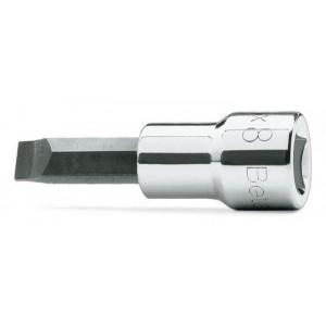 """Nasadka z końcówką wkrętakową płaską z gniazdem 3/8"""" Beta 910LP 1,2X8mm"""