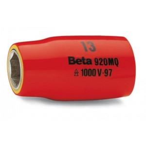 Nasadka sześciokątna z gniazdem 1/2'', w izolacji do 1000v, model 920mq/a, 8mm, en 60900