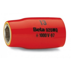 Nasadka sześciokątna z gniazdem 1/2'', w izolacji do 1000v, model 920mq/a, 13mm, en 60900