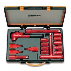 Zestaw nasadek 920mq/a z akcesoriami, 8-24mm, 16 elementów, w pudełku metalowym, model...