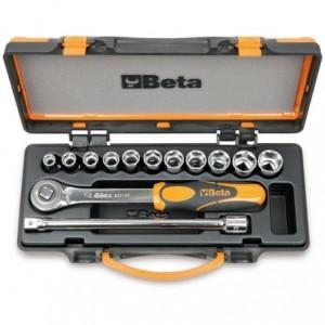 Zestaw nasadek 920/b z akcesoriami 10-22mm 13 elementów w pudełku metalowym Beta 920B/C11