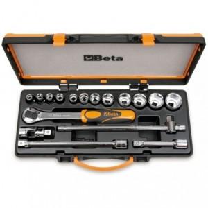 Zestaw nasadek 920/a z akcesoriami 10-32mm 17 elementów w pudełku metalowym Beta 920A/C12X