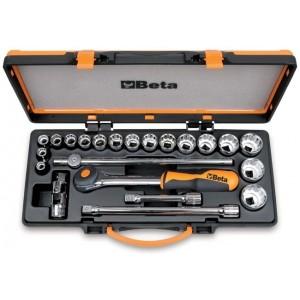 Zestaw nasadek 920/a z akcesoriami 10-32mm 17 elementów w pudełku metalowym Beta...