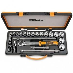 Zestaw nasadek 920/b z akcesoriami 10-32mm 25 elementów w pudełku metalowym Beta 920B/C20X