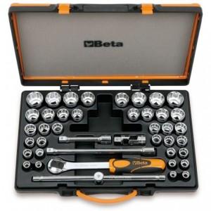 """Zestaw nasadek 920/b 10-32mm i 920as 3/8""""-1,1/4"""" z akcesoriami 10-32mm 42 elementy w..."""