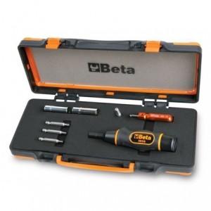 Zestaw narzędzi do kontrolowanego dokręcania zaworów opon z systemem kontroli ciśnienia...