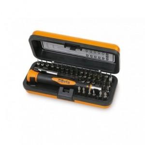 Zestaw końcówek wkrętakowych precyzyjnych 1256 z akcesoriami 38 elementów w pudełku...