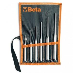 Komplet wybijaków cylindrycznych 31 2-8mm 6 sztuk w pokrowcu Beta 31/B6