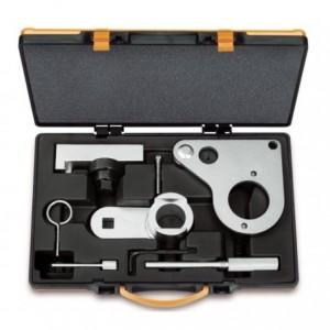 Zestaw narzędzi do blokowania i ustawiania układu rozrządu w silnikach 2,0 dci renault...
