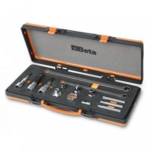 Zestaw narzędzi do demontażu koła pasowego alternatora 14 elementów w pudełku Beta...