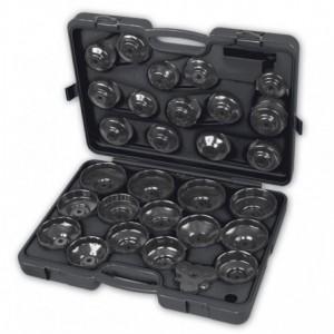 Zestaw nasadek z kluczem nastawnym do filtrów oleju 30 elementów w pudełku Beta 1493/C30