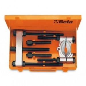 Zestaw ściągacz z przedłużkami i separator 1533/2-1533pr/1-1534/2 w pudełku Beta 1535/C2