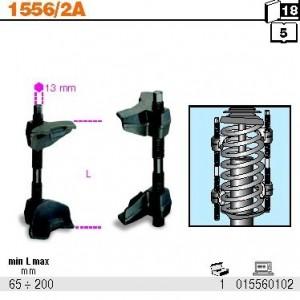 Ściskacz śrubowy sprężyn (2 sztuki) Beta 1556/2A 65-200 mm