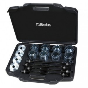 Zestaw narzędzi do montażu i demontażu tulei metalowo-gumowych Beta 1569/A