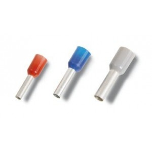 Końcówki kablowe tulejkowe Beta 1632G/4K 4mm2 (OPAKOWANIE 100 SZTUK)