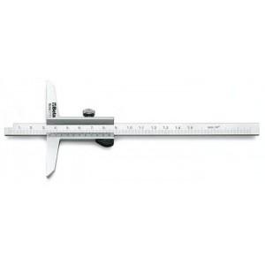 Głębokościomierz suwmiarkowy Beta 1656 0-200mm