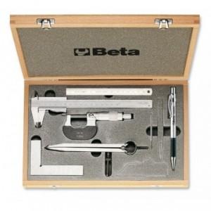 Zestaw narzędzi do mierzenia i trasowania 7 sztuk w pudełku Beta 1685/C7