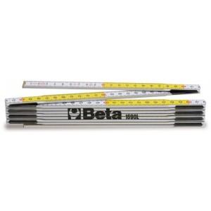 Przymiar składany z drewna brzozowego klasa iii Beta 1690L/2