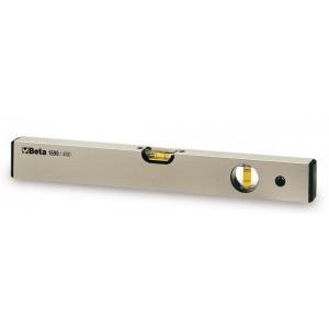 Poziomnica z dwiema libelkami profil aluminiowy Beta 1696 200mm