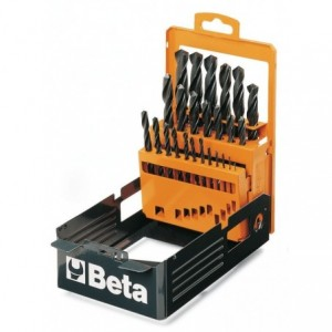 Pudełko metalowe do kompletu wierteł 410/sp25 puste Beta 410/SPV2