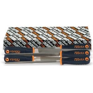 Komplet pilników półgładzików z rękojeścią kompozytową 1719bma6 q-t-p-m-r 5 sztuk w...