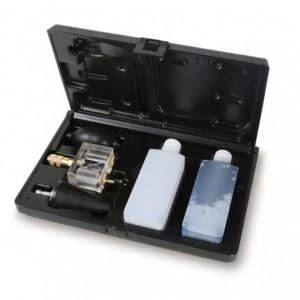 Detektor chemiczny obecności dwutlenku wegla do sprawdzania szczelności głowicy silnika...