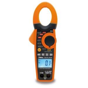 Multimetr cyfrowy cęgowy z termometrem i akcesoriami Beta 1760PA/AC-DC