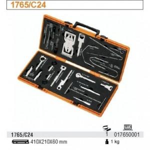 Zestaw 24 narzędzi do demontażu radioodbiorników samochodowych 24 elementy w pudełku...