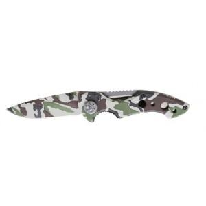 Nóż składany ostrze ze stali hartowanej rękojeść aluminiowa w pokrowcu Beta 1778CM 198mm