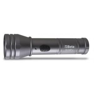 Latarka led z aluminium 500lm/40lm Beta 1834PL (BEZ BATERII 3XAA)