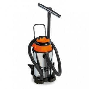 Odkurzacz elektryczny do odkurzania na sucho i mokro obudowa inox pojemność zbiornika...