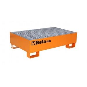 Podest stalowy do przech beczek 200l Beta 1889 1210X740X330mm CE
