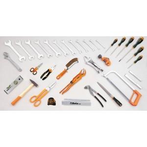 Torba narzędziowa (2009n/bv) z zestawem 35 narzędzi dla hydraulików (5980id) Beta 2009ID