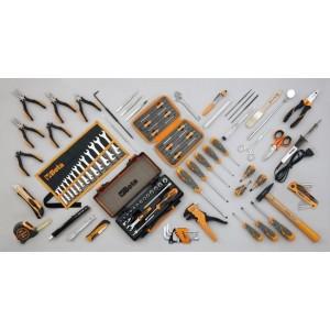 Walizka narzędziowa (2033p/vv) z zestawem 98 narzędzi dla elektrotechników (5980el/b)...