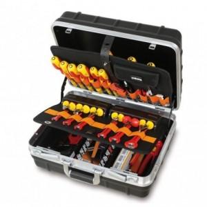 Walizka narzędziowa (2036/tv) z zestawem 64 narzędzi dla elektrotechników (5980et/b)...