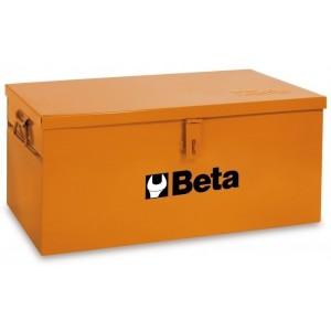 Skrzynia narzędziowa z blachy stalowej lakierowana pomarańczowa Beta 2200/C22BLO...