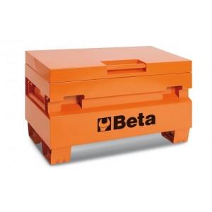 Skrzynia narzędziowa z blachy stalowej lakierowana pomarańczowa Beta 2200/C22PM/O...