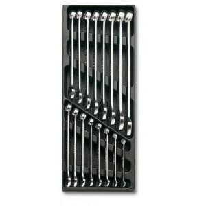 Wkład profilowany twardy z zestawem 16 kluczy 42mp 6-21mm Beta 2424/T18