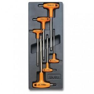 Wkład profilowany twardy z zestawem 6 kluczy 96t 2-6mm Beta 2424/T52