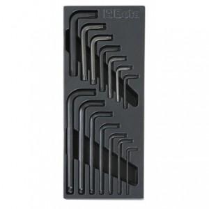 Wkład profilowany twardy z zestawem 14 kluczy 96bp-97tx Beta 2424/T56