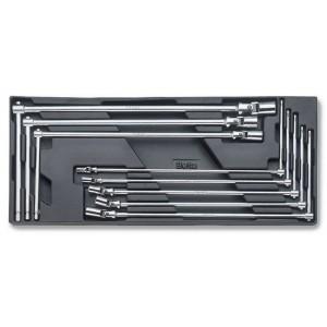 Wkład profilowany twardy z zestawem 8 kluczy 952 7-19mm Beta 2424/T63