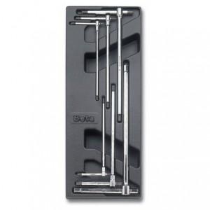 Wkład profilowany twardy z zestawem 6 kluczy 951 2,5-8mm Beta 2424/T68