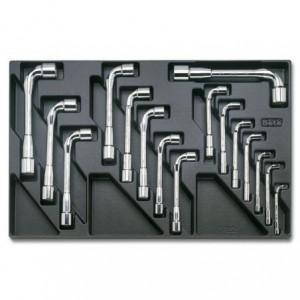 Wkład profilowany twardy z zestawem 16 kluczy 932 7-24mmk Beta 2424/T76
